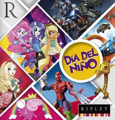 catalogo juguetes dia del nino 2014 en ripley peru