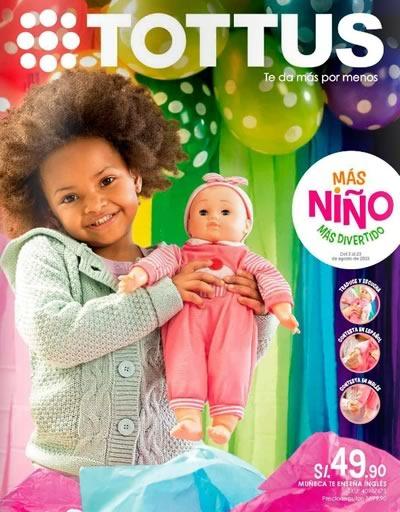 catalogo juguetes tottus agosto 2015