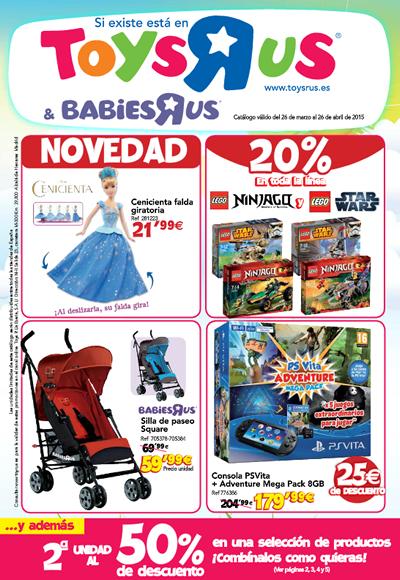catalogo juguetes toysrus abril 2015