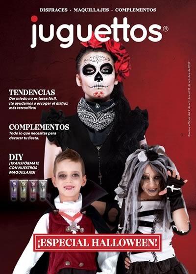 catalogo juguettos halloween 2017