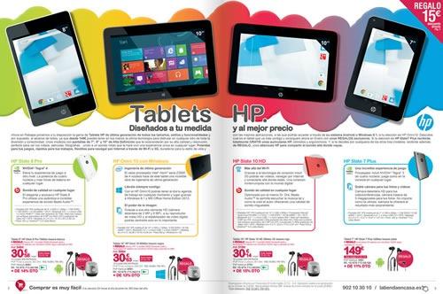 catalogo la tienda en casa enero febrero 2014 tablets