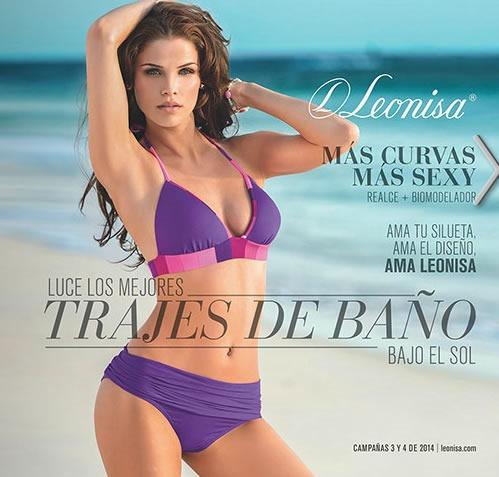 catalogo leonisa trajes de bano campana 3 y 4 de 2014 mexico
