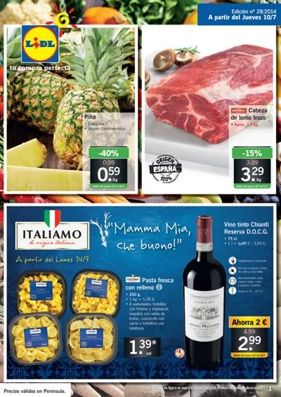 catalogo lidl ofertas hasta 16 julio 2014