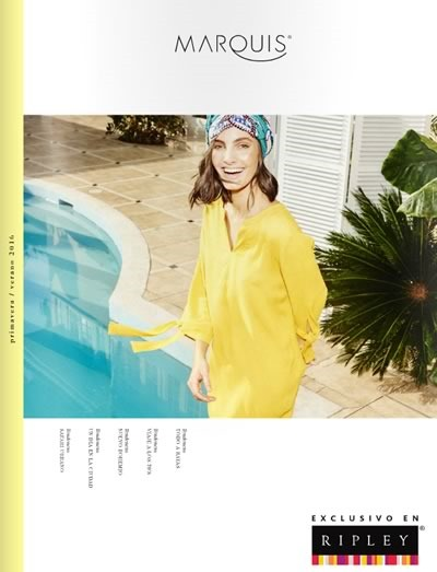 catalogo marquis coleccion primavera verano 2016 avance temporada