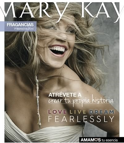 catalogo mary kay fragancias primavera 2016