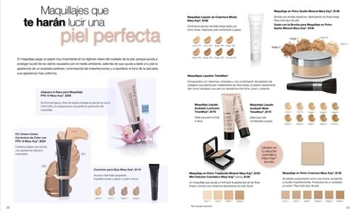 Catalogo Mary Kay Mayo 2014 Ama Tu Piel on avon catalogo online