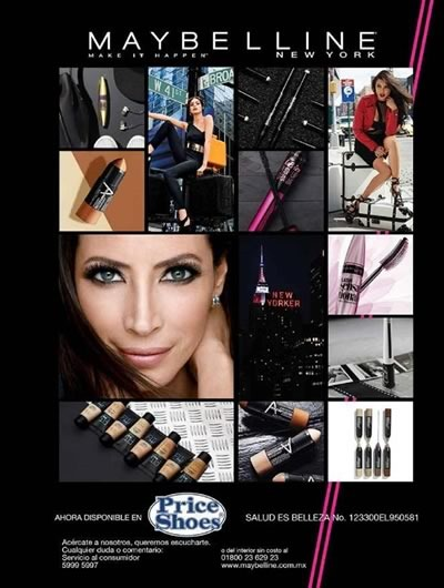 catalogo maybelline otono invierno 2017 de price shoes