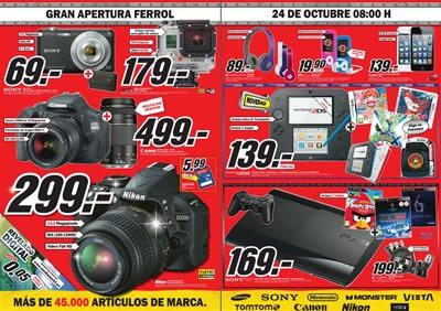 catalogo media markt octubre 2013 apertura ferrol espana 2