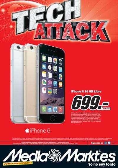 catalogo media markt ofertas tech attack octubre 2014