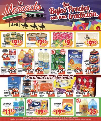 catalogo mercado soriana 22 28 noviembre 2013