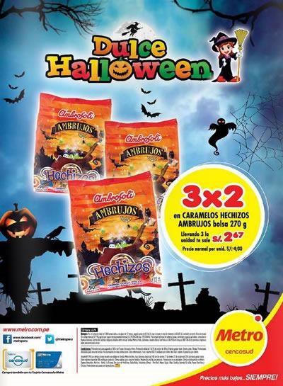 catalogo metro dulces halloween octubre 2014