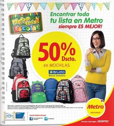 catalogo metro feria escolar 2014