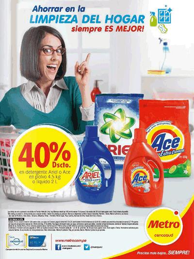 catalogo metro ofertas limpieza octubre 2014