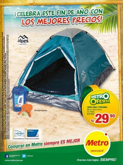 catalogo metro productos campamento enero 2014