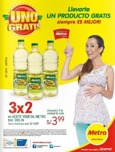 catalogo metro uno gratis julio 2014