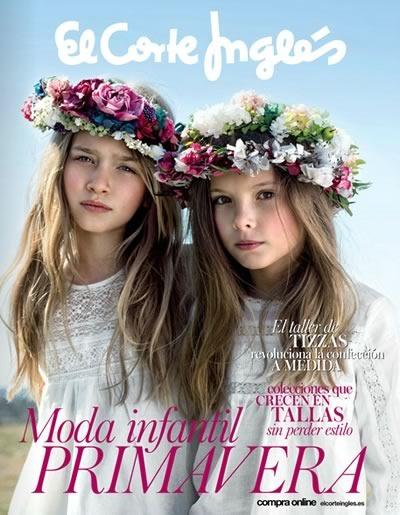 catalogo moda infantil primavera 2015 el corte ingles