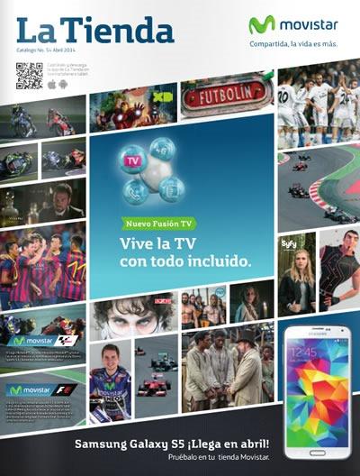 catalogo movistar abril 2014