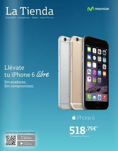 catalogo movistar enero 2015 smartphones tablets espana