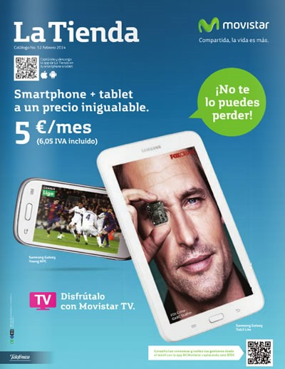 catalogo movistar febrero 2014