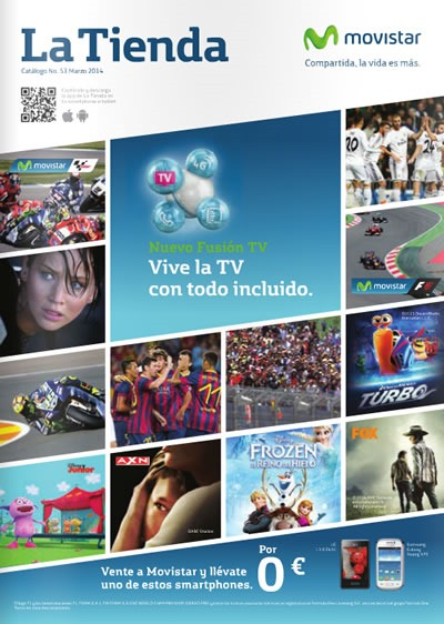 catalogo movistar marzo 2014