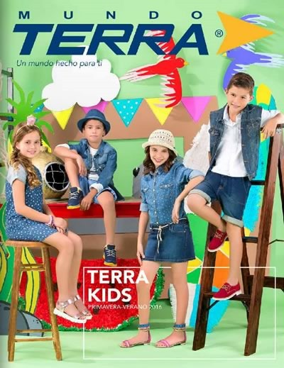 335d6016 Catálogo Mundo Terra Primavera Verano 2016 Terra Kids