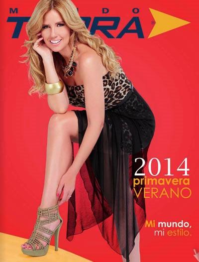 b1a0f176 Catálogo Mundo Terra Primavera Verano 2014: Calzado Dama