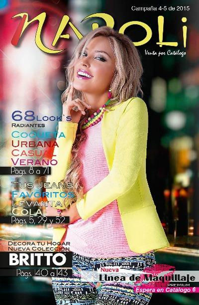 catalogo napoli campana 4 y 5 de 2015 colombia