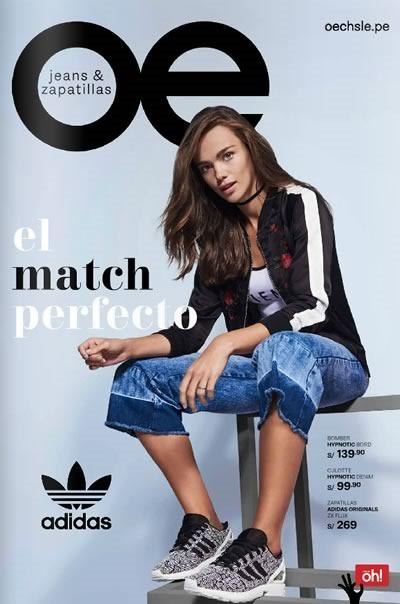 catalogo oechsle jeans zapatillas septiembre 2016