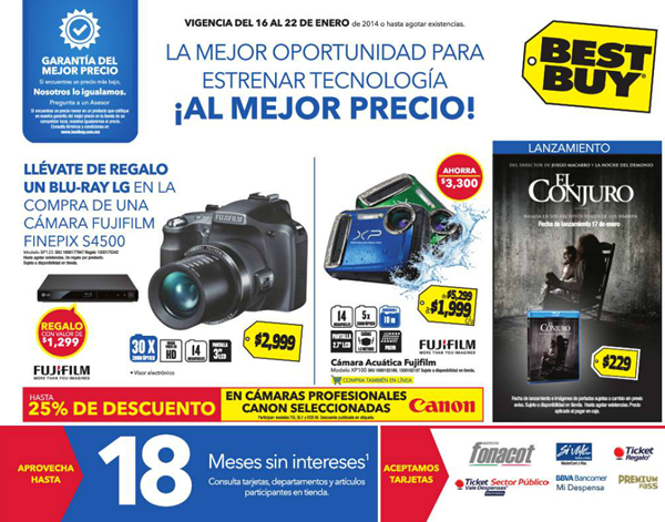 catalogo ofertas best buy enero 2014 mexico