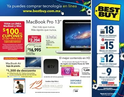 catalogo ofertas best buy mayo 2014 mexico