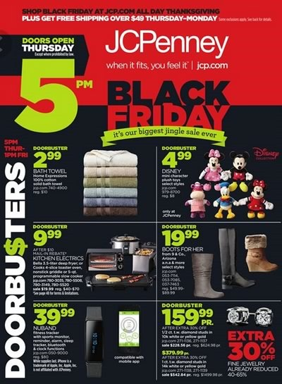 catalogo ofertas black friday 2014 en jcpenney