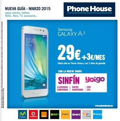 catalogo ofertas celulares phone house marzo 2015