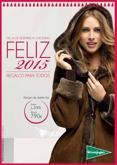 catalogo ofertas el corte ingles feliz 2015 regalos para todos