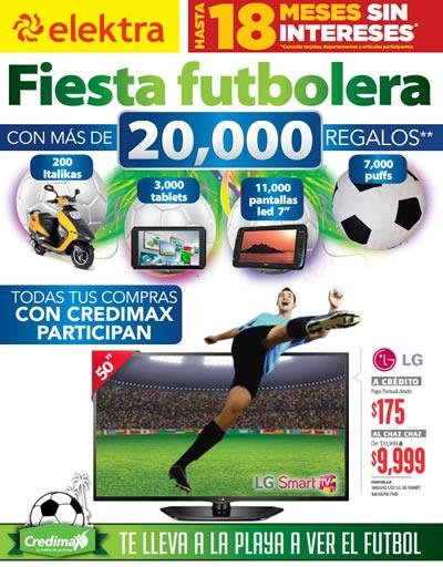 catalogo ofertas elektra mexico junio 2014