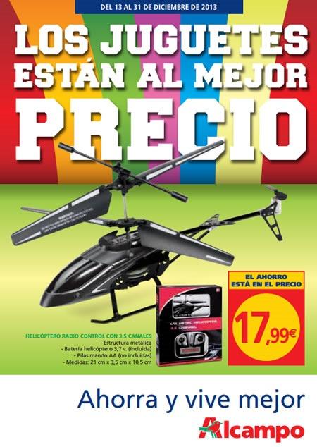 catalogo ofertas juguetes alcampo diciembre 2013