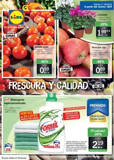 catalogo ofertas lidl supermercados septiembre 2014