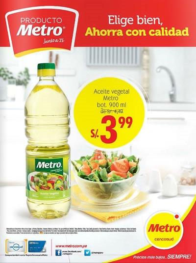 catalogo ofertas metro octubre 2014
