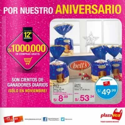 catalogo ofertas plaza vea aniversario noviembre 2013