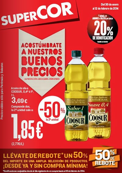 catalogo ofertas supercor febrero 2014