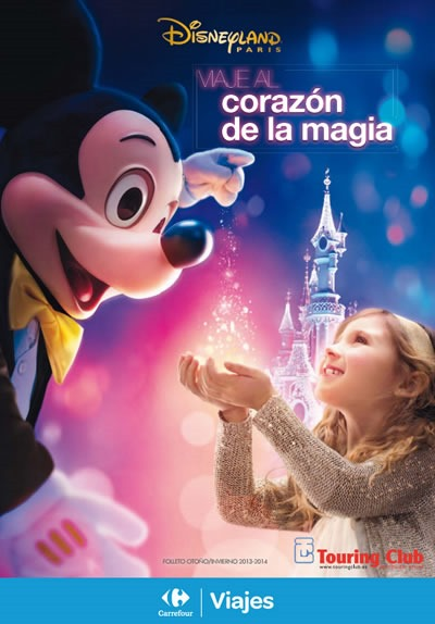catalogo ofertas viajes carrefour disney paris 2013 2014