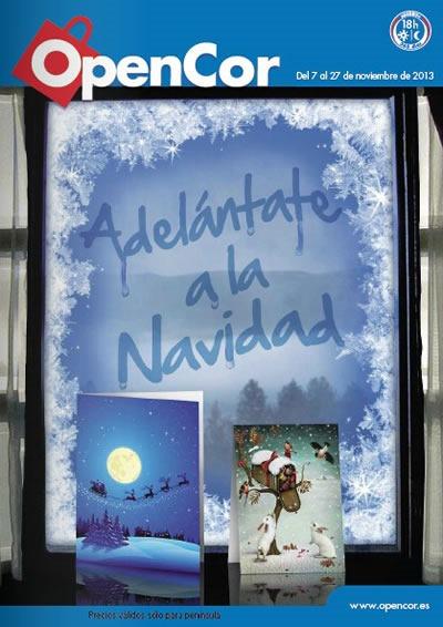 catalogo opencor adornos de navidad 2013