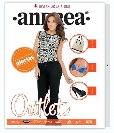 catalogo outlet andrea julio 2015