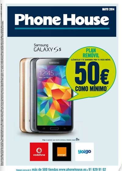catalogo phone house mayo 2014 espana