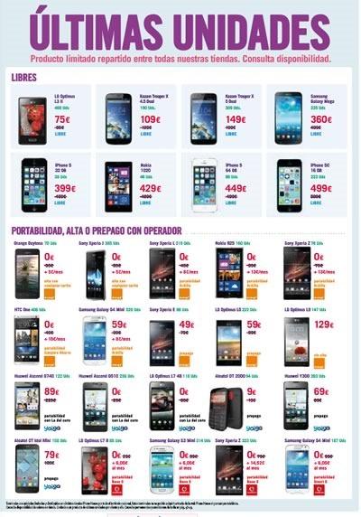 catalogo phone house mayo 2014 espana equipos