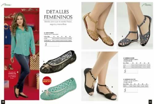 catalogo pisame campana 16 17 18 moda calzado 2013 2