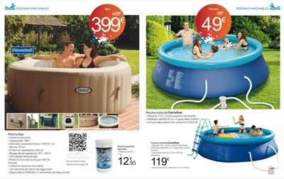catalogo piscinas accesorios carrefour mayo junio 2014 - 01