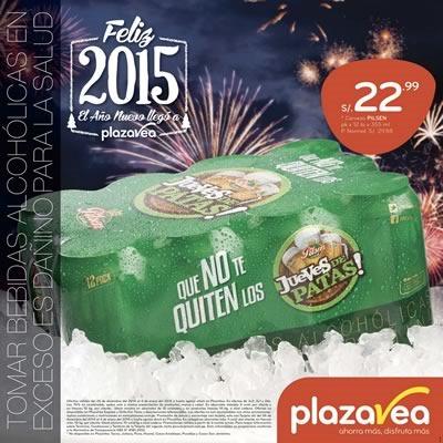 catalogo plaza vea ofertas ano nuevo 2015 peru
