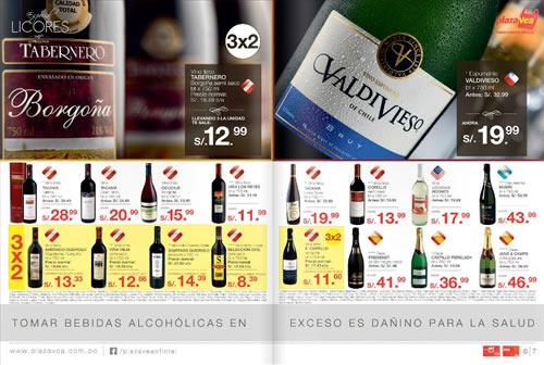 catalogo plaza vea ofertas licores noviembre 2013 1
