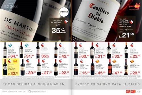 catalogo plaza vea ofertas licores noviembre 2013 2