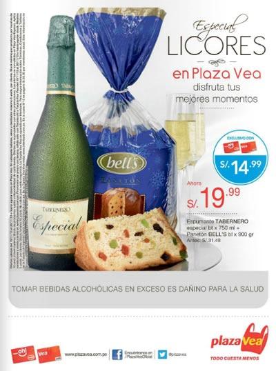 catalogo plaza vea ofertas licores noviembre 2013